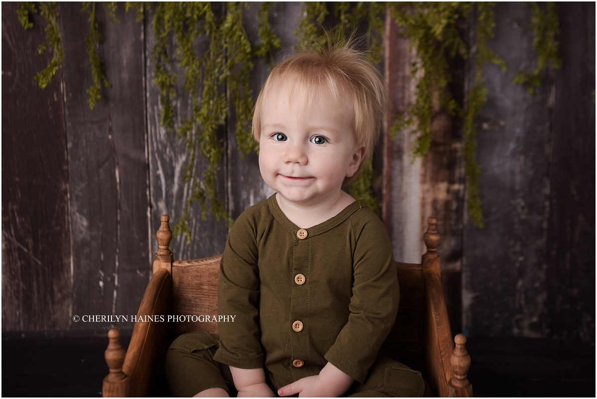 Sam 1 Year Old Denham Springs La Baby Photographer